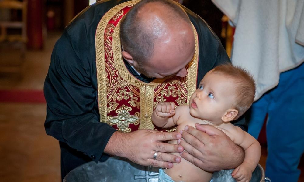 Свето кръщение Христо
