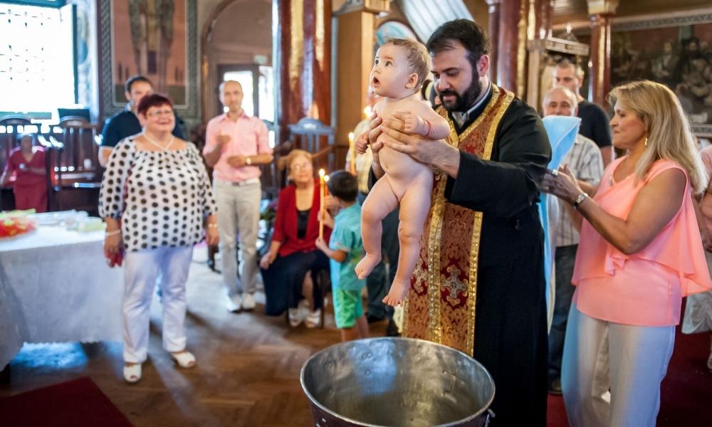 Свето кръщение Габи